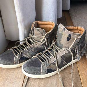 Saint Laurent hightop sneakers